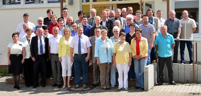 Kreistagsmitglieder der Landkreises Sonneberg